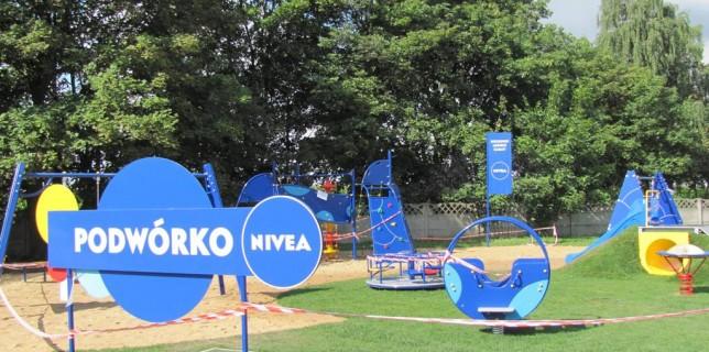 Plac zabaw NIVEA przekazany Gminie