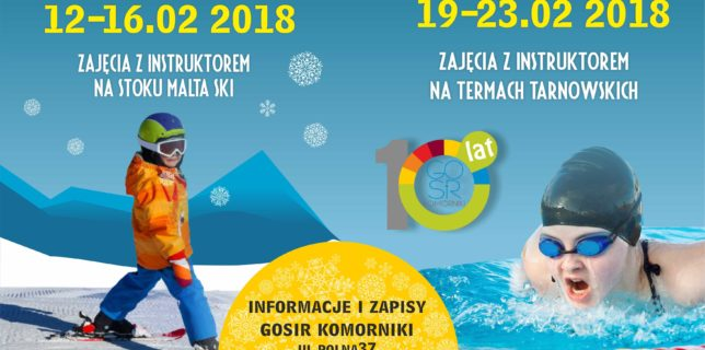 Półkolonie Sportowe-Ferie 2018