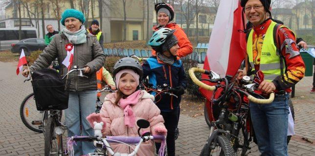 Otwarcie szlaku rowerowego NIEPODLEGŁOŚCI